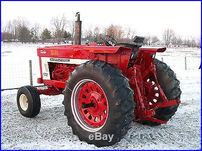 International 1066 Tractor Diesel -Sharp Selling with No Reserve