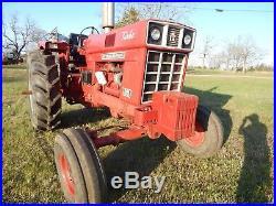 International 1066 Turbo Tractor