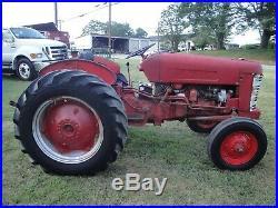 International 350 Utility 2wd Gas Tractor