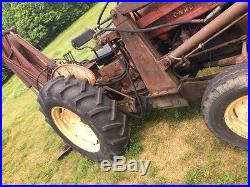 International 350 Utility Farm Tractor + Loader + Backhoe! LK John Deere