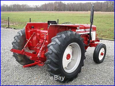 International 574 Tractor Diesel