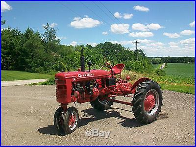 International Farmall B Antique Tractor NO RESERVE McCormick Deering