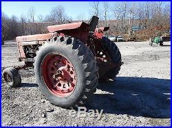 International Harvester 856 Utility Tractor DIESEL RUNS & DRIVES D-407 Engine