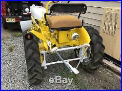 International Harvester Cub Tractor With Plow