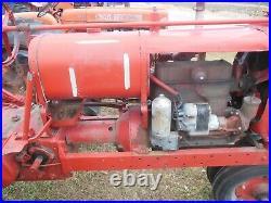 International Harvester Farmall F-12 F12 Tractor Rebuilt Running Engine