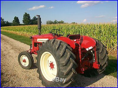 International Harvestor Farmall 350 Utility Antique Tractor NO RESERVE Oliver