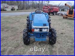 Iseki Land Hope Tu205 4×4 Diesel Tractor Fixer Upper