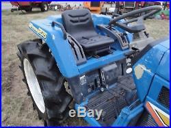 Iseki Land Hope Tu205 4x4 Diesel Tractor Fixer Upper