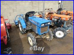 Iseki TX1410 2WD/4WD Compact Utility Tractor + SR1100CD Rotary Tiller