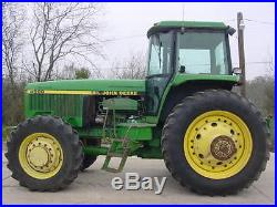 JD 4960 MFWD Tractor