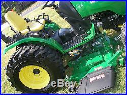 JOHN DEERE 2520 4 X 4 TRACTOR ONLY 263 HOURS
