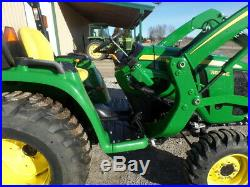 JOHN DEERE 3032E 4WD AND LOADER 2018 19HRS. WithWARR. WHY BUY NEW