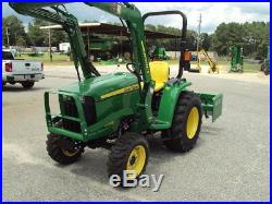 JOHN DEERE 3038E 4WD LDR AND FRONTIER BB2060 BOXBLADE 2017 With 4 HRS! MINT
