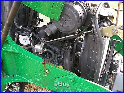 JOHN DEERE 3203 4 X 4 LOADER BACKHOE TRACTOR