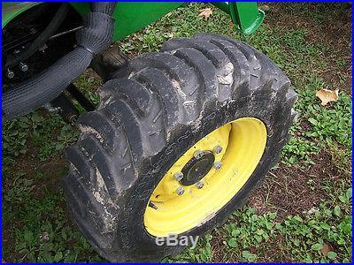 JOHN DEERE 3520 W/ 300X LOADER, FACTORY CAB- NO FEES