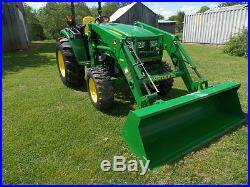 JOHN DEERE 4044R 2014 With27HRS 4WD HYDRO LDR WARR, REMAINING