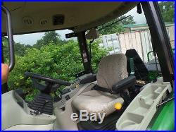 JOHN DEERE 4066R 4WD TRACTOR LOADER BACKHOE CAB 2016 With 150HRS MINT