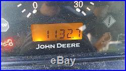 JOHN DEERE 4120 4X4, QUICK DETACH JD 400X LOADER