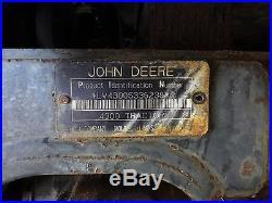 JOHN DEERE 4300 4X4 Compact Tractor NO RESERVE
