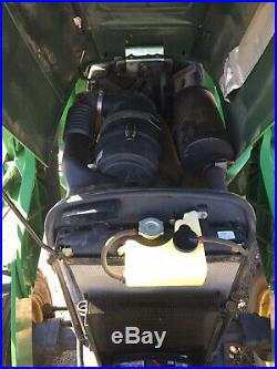 JOHN DEERE 4520 4wd MFWD Tractor Self Leveling Loader Loaded with Low Hrs