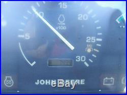 JOHN DEERE 4600 4 X 4 LOADER BACKHOE TRACTOR