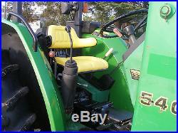 JOHN DEERE 5400 4 X 4 LOADER TRACTOR