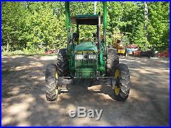 JOHN DEERE 5400 4x4 Loader Tractor 68HP New Engine