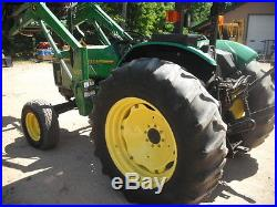 JOHN DEERE 5400 Loader Tractor 3385 Hours 68HP