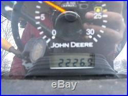 JOHN DEERE 5525 4X4 CAB & 542 LOADER