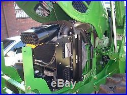 JOHN DEERE 6115- CAB+LOADER+4X4+ POWER REVERSER TRANS- 118HP- (143HRS)