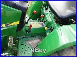 JOHN DEERE 770 COMPACT TRACTOR With 70 LOADER. YANMAR DIESEL. ONLY 1263 HRS! CLEAN