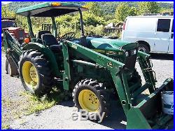 JOHN DEERE 850 TRACTOR LOADER BACKHOE