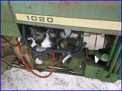 John Deere 1020 gas tractor nice little tractor