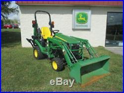 John Deere 1025R Tractor Backhoe Package