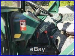 John Deere 1050 Tractor Loader 4x4 3 Point PTO Cab Diesel Farm Tractor