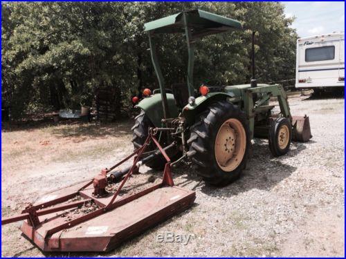 John Deere 1050 Tractor With Loader