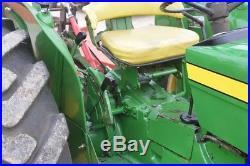 John Deere 1530 diesel tractor remote hydraulics