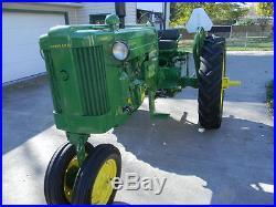 John Deere 1953 Model 40T tractor, sn- 62224. MUST SEE