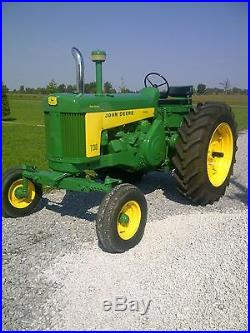 John Deere 1959 730 Diesel Electric Start 2 Cylinder Tractor