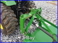 John Deere 2032 Tractor, Loader, Belly Mower