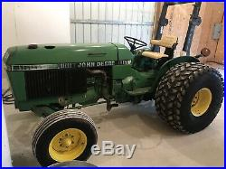 John Deere 2155 Tractor. Diesel. Power Steering. Rear Remote. Nice Tractor