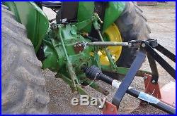 John Deere 2155 diesel tractor