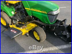 John Deere 2305 Amazing Barn Find! 4X4 Plow Mower Tractor with Only 2 Hours