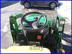 John Deere 2305 Compact Tractor LOADER BACKHOE