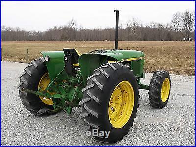 John Deere 2350 Tractor- Diesel Nice -4x4