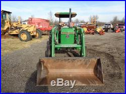 John Deere 2355 Tractor, OROPS with Sunshade, 2WD, Great Bend 440 FL, 5,592 Hours