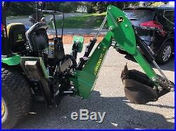 John Deere 2520 Tractor Front Loader Backhoe