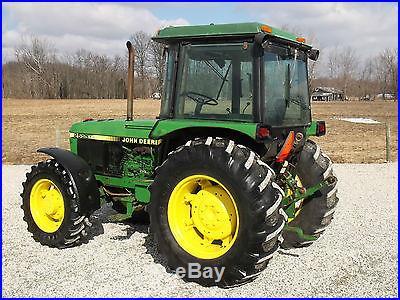 John Deere 2555 Tractor & Cab 4x4 1 owner
