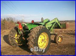 John Deere 2630 Loader Tractor NO RESERVE antique farmall oliver alllis a b g h