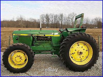 John Deere 2955 Tractor Diesel 4x4 Selling with No Reserve